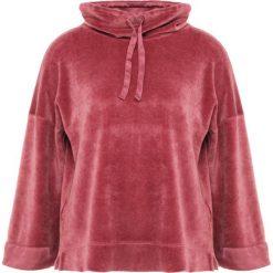 Deha MAGLIA CINIGLI Bluza z kapturem rose wine. Czerwone bluzy rozpinane damskie Deha, xs, z bawełny, z kapturem. Za 399,00 zł.