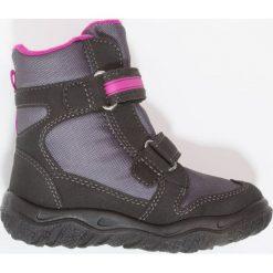 Superfit HUSKY Śniegowce schwarz/multicolor. Czarne buty zimowe damskie marki Superfit, z materiału. W wyprzedaży za 209,30 zł.