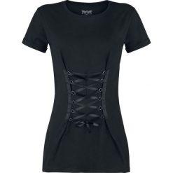 Black Premium by EMP Tie You Up Koszulka damska czarny. Czarne bralety marki Black Premium by EMP, xl, z poliesteru. Za 49,90 zł.