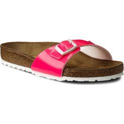 Chodaki damskie: Klapki BIRKENSTOCK - Madrid 0439791 Patent Neon Pink