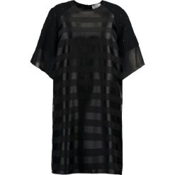 Sukienki hiszpanki: Elvi STRIPE DRESS  Sukienka koktajlowa black