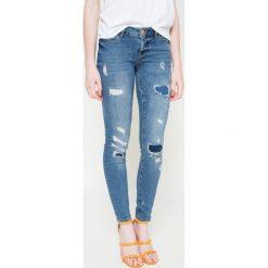 Noisy May - Jeansy Destroy Patch. Szare jeansy damskie marki Noisy May, z jeansu. W wyprzedaży za 119,90 zł.