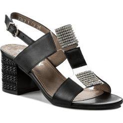 Rzymianki damskie: Sandały ANN MEX – 8616 01S Czarny