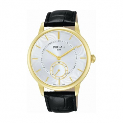 """Zegarek """"PN4042X1"""" w kolorze czarnym. Czarne, analogowe zegarki męskie marki Lorus, Pulsar, ze stali. W wyprzedaży za 359,95 zł."""