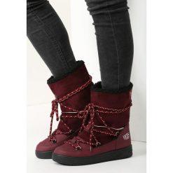 Bordowe Śniegowce Night Magic. Czerwone buty zimowe damskie marki vices. Za 89,99 zł.