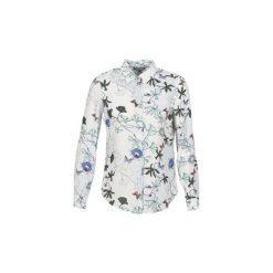 Koszule Tommy Hilfiger  MIRAN-SHIRT-LS. Białe koszule nocne i halki TOMMY HILFIGER. Za 351,20 zł.