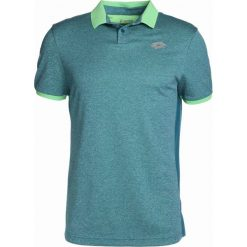 Lotto DRAGON TECH II   Koszulka polo turquoise. Niebieskie koszulki sportowe męskie Lotto, m, z materiału. Za 209,00 zł.