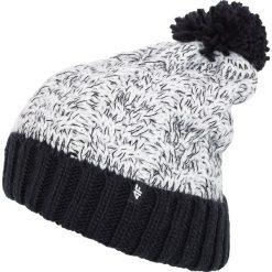 Czapka damska CAD281Z - czarny - 4F. Czarne czapki damskie 4f, na jesień, z materiału. Za 19,99 zł.