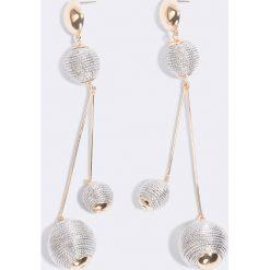 Ettika Kolczyki Bright Future - Multicolor,Silver,Gold. Szare kolczyki damskie Ettika, srebrne, na sztyftcie. W wyprzedaży za 48,59 zł.