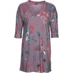 """Koszula nocna """"Flower Dreams"""" w kolorze fiołkowym. Białe koszule nocne i halki marki LASCANA, w koronkowe wzory, z koronki. W wyprzedaży za 81,95 zł."""