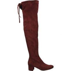 Buty zimowe damskie: Kozaki - 70041 STR BOR