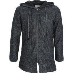 Czarna Bluza Equanimity. Czarne bluzy męskie rozpinane marki Born2be, l, z aplikacjami, z dresówki. Za 49,99 zł.