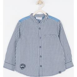 Koszula. Niebieskie koszule chłopięce z długim rękawem SUPER COOL, z bawełny. Za 65,90 zł.