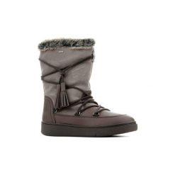 Śniegowce Geox  Wmns D Mayrah B ABX A-OIL.LEA+SUE D743MA 04522 C6132. Brązowe buty zimowe damskie Geox. Za 451,40 zł.