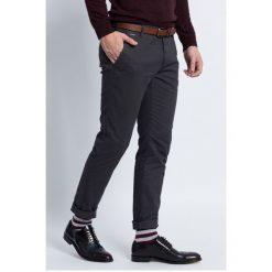 Review - Spodnie. Szare chinosy męskie marki bonprix, melanż, z dresówki. Za 169,90 zł.
