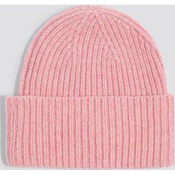 Czapki zimowe damskie: Just Female Czapka Pan – Pink
