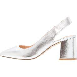 Buty ślubne damskie: Office MARGOT Czółenka silver