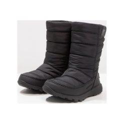 Sorel WHITNEY MID Śniegowce black. Czarne buty zimowe damskie Sorel, z materiału. W wyprzedaży za 175,45 zł.