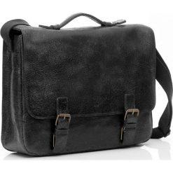Torby na laptopa: Czarna męska torba Skórzana DAAG PRIMO