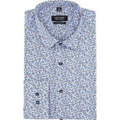 Koszula versone 2828 długi rękaw custom fit niebieski. Niebieskie koszule męskie Recman, m, z długim rękawem. Za 149,00 zł.