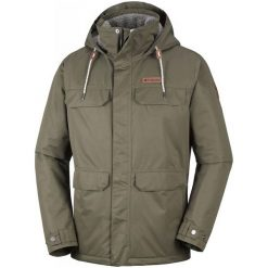 Columbia Kurtka Męska South Canyon Lined Jacket Peatmoss S. Szare kurtki sportowe męskie marki Columbia, z dzianiny. Za 719,00 zł.