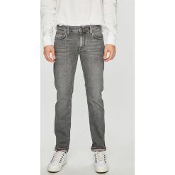 Tommy Hilfiger - Jeansy Bleecker. Szare jeansy męskie slim TOMMY HILFIGER, z bawełny. Za 499,90 zł.