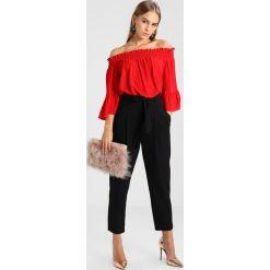 Bluzki asymetryczne: Dorothy Perkins Petite SHIRRED BARDOT Bluzka red