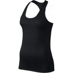 Nike Koszulka Treningowa W Nk Dry Tank Balance L. Czarne bluzki sportowe damskie marki Nike, l. W wyprzedaży za 65,00 zł.