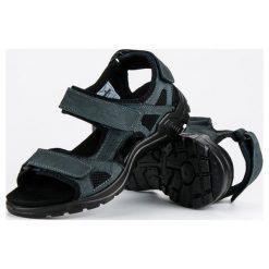 MĘSKIE SANDAŁY AMERICAN - odcienie niebieskiego. Niebieskie sandały męskie American CLUB. Za 99,90 zł.