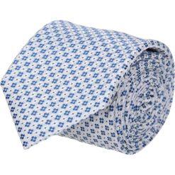 Krawaty męskie: krawat platinum szary classic 203