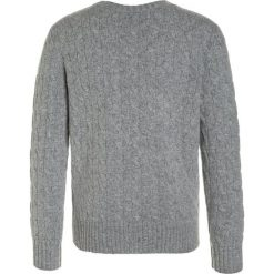 Polo Ralph Lauren CABLE Sweter grey heather. Szare swetry chłopięce marki Polo Ralph Lauren, z materiału, polo. W wyprzedaży za 374,25 zł.