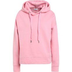 Bluzy rozpinane damskie: CLOSED WOMENS TOP Bluza z kapturem flamingo pink