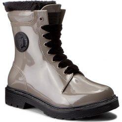 Kalosze TRUSSARDI JEANS - 79A00093 B267. Szare buty zimowe damskie marki Trussardi Jeans, z jeansu. W wyprzedaży za 319,00 zł.