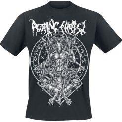 Rotting Christ Hellenic Black Metal Legions T-Shirt czarny. Czarne t-shirty męskie z nadrukiem Rotting Christ, xxl, z okrągłym kołnierzem. Za 74,90 zł.