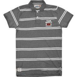 Koszulka polo w kolorze szarym. Szare koszulki polo Camel Active, Varsity, l. W wyprzedaży za 72,95 zł.