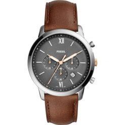 Fossil - Zegarek FS5408. Różowe zegarki męskie marki Fossil, szklane. Za 599,90 zł.
