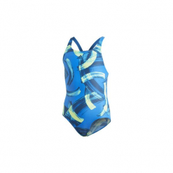 Kostium kąpielowy jednoczęściowy Dziecko adidas  Strój do pływania Parley. Białe stroje jednoczęściowe dziewczęce marki Adidas, m. Za 149,00 zł.