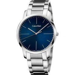 ZEGAREK CALVIN KLEIN CITY GENT K2G2G1ZN. Niebieskie zegarki męskie marki Calvin Klein, szklane. Za 899,00 zł.