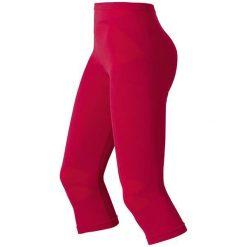 Spodnie sportowe damskie: Odlo Spodnie tech. Odlo Pants 3/4 EVOLUTION WARM – 180931 – 180931S