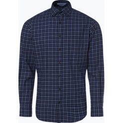Andrew James - Koszula męska, niebieski. Czarne koszule męskie na spinki marki TOM TAILOR DENIM, l, z bawełny, button down, z długim rękawem. Za 129,95 zł.