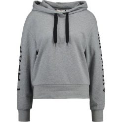 Bluzy damskie: Cheap Monday RUSH HOOD CUT LOGO Bluza z kapturem grey melange