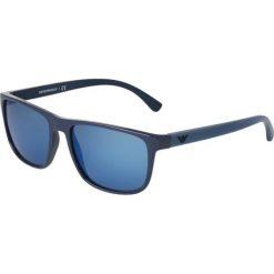 Okulary przeciwsłoneczne damskie aviatory: Emporio Armani Okulary przeciwsłoneczne blue