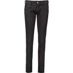 """Spodnie z wysokim stanem: Dżinsy """"Gila""""- Slim fit - w kolorze czarnym"""