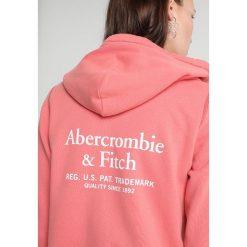 Abercrombie & Fitch LOGO Bluza rozpinana red. Czerwone bluzy rozpinane damskie Abercrombie & Fitch, l, z bawełny. Za 369,00 zł.
