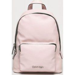 Calvin Klein - Plecak. Szare plecaki damskie marki Calvin Klein, z materiału. Za 579,90 zł.