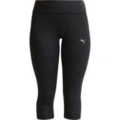 Spodnie dresowe damskie: Puma Rybaczki sportowe black