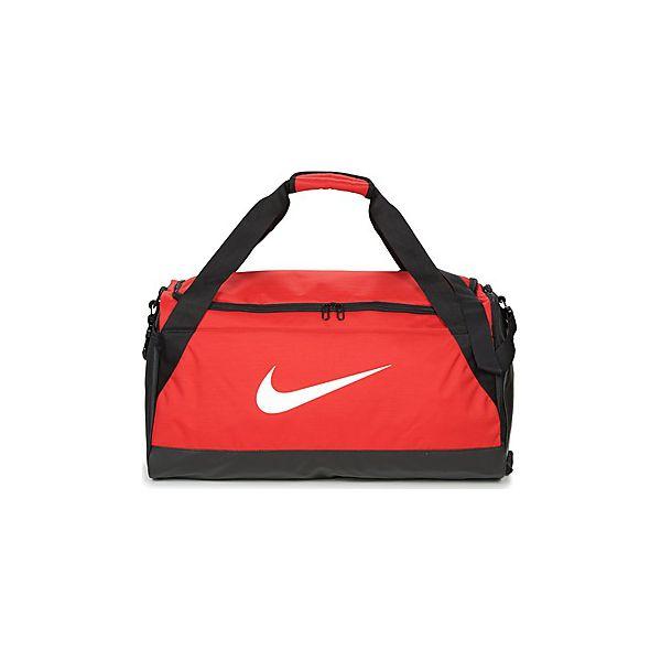 0a5b9fc26c897 Torby sportowe Nike BRASILIA MEDIUM - Czerwone torby podróżne marki Nike. Za  135