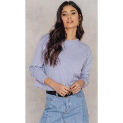Bluzy rozpinane damskie: Zorannah for NA-KD Krótka bluza - Purple