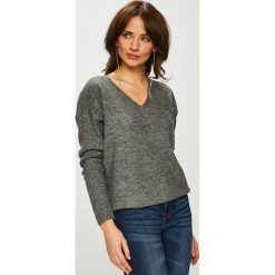 Jacqueline de Yong - Sweter. Szare swetry klasyczne damskie marki Jacqueline de Yong, l, z dzianiny. Za 89,90 zł.