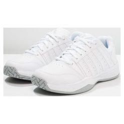 KSWISS COURT SMASH Obuwie multicourt white/navy. Białe buty do tenisu damskie K-SWISS. Za 379,00 zł.